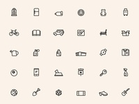 Marketplace Icons
