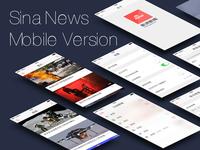 SinaNews Interface