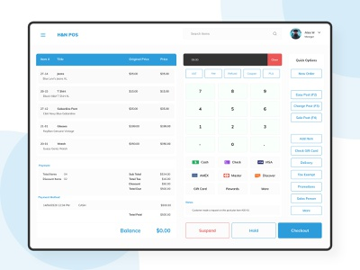POS Billing User Interface Design store app business branding web design figma web app bills ui  ux
