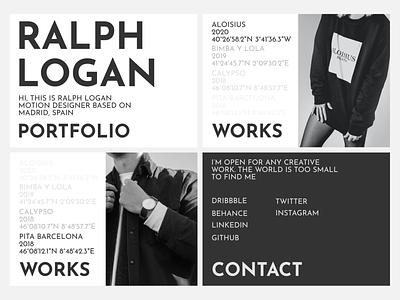Big Series 2️⃣ Portfolio Design dribbble portrait art website landing page ui flat figma portfolio design flat design daily ui branding landing page web design ui  ux design portfolio