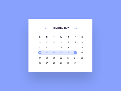 Date Picker selection calendar date picker date illustration ui design dailyuichallenge dailyui