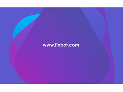 Finbot colors creative comingsoon ui branding logo visual design