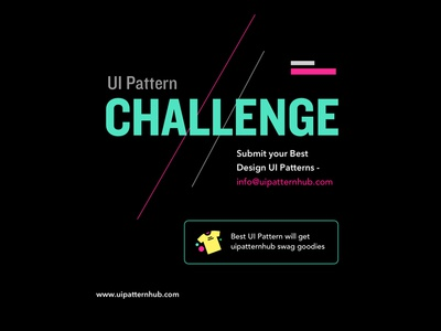 UIPatternhub ui patterns creative typography pattern design ux ui