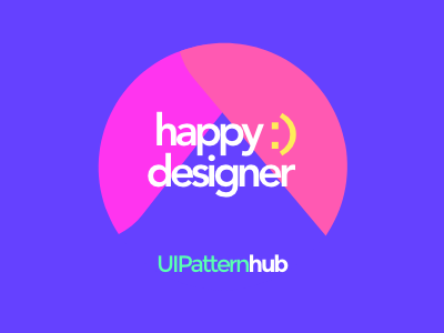 Happy Designer ui ux creative design visual design