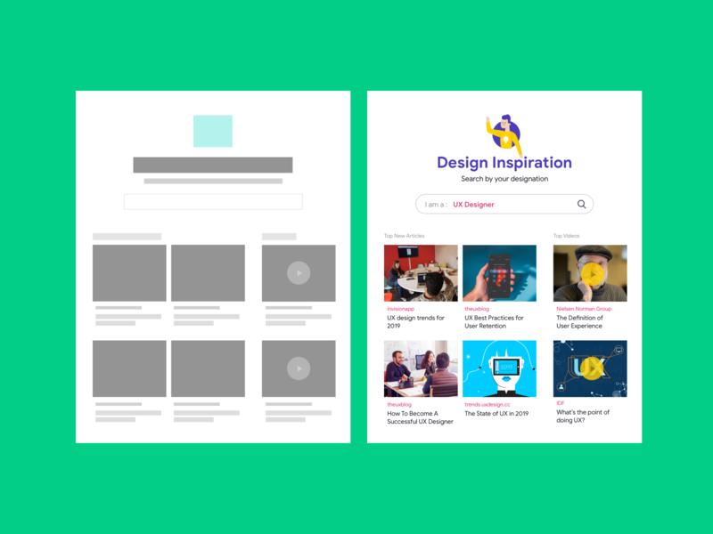 Design Inspiration website  search by designation concept uxdesign ux uiux patterns uipattern uipatternhub creative design visual design
