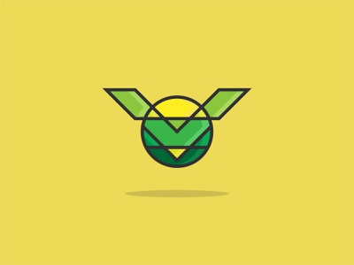 VOWL Logo v logo logogram branding dribbble dailylogochallenge mascot logo cartoon bird logo grid system networking startup technology owl
