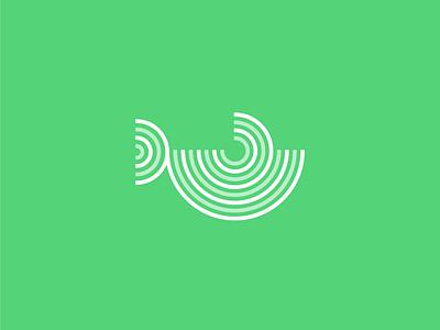 Whale Circle dailylogo startup fishing fishlogo fish branding dribble whale logo dailylogochallenge whale