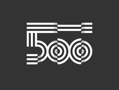 500 Monogram Logo