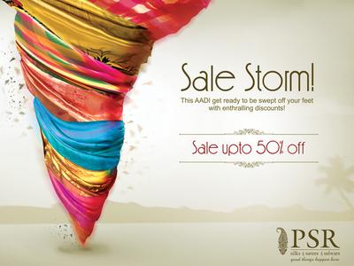 Sale Storm!