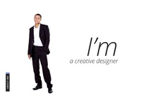 About Me page design