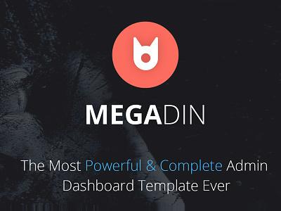 Megadin Admin Dashboard UI application ui component graph element form backend user interface ui admin dashboard