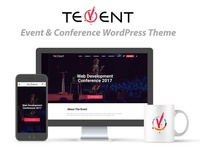 Tevent Conference & Event WordPress Theme