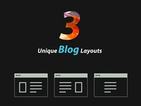 Event Blog Layout