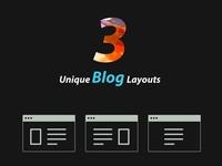 Event Blog Layout