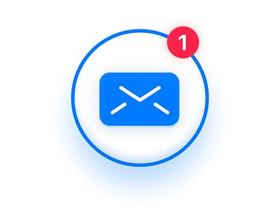 Mailbar Logo debut macos icon app notification logo mail