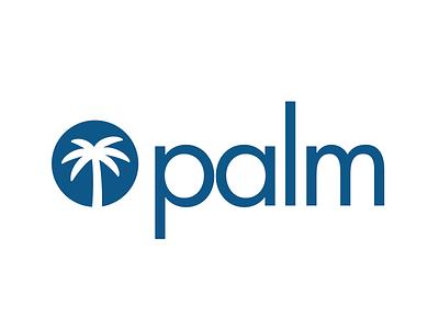 Palm Logo app logo palm