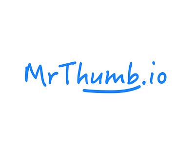 Mrthumb.io processing image logo