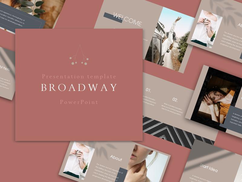 BROADWAY - PowerРoint Template