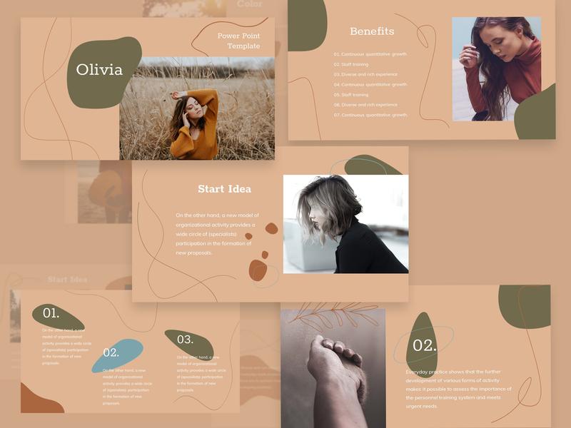 Olivia PowerРoint Template