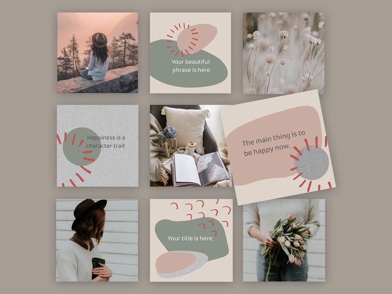 Beverly - Instagram templates