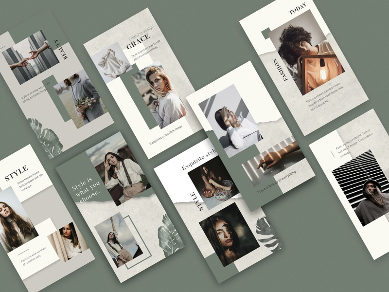 Emily - Instagram Templates fashion creative post-design social media post-instagram instagram template instagram graphic design template design