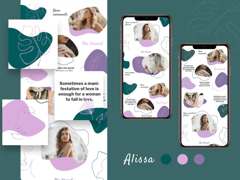 Alissa - Instagram templates