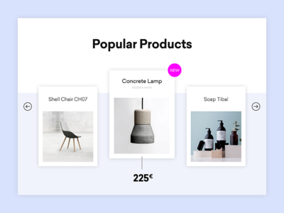 Simple Product-Slider