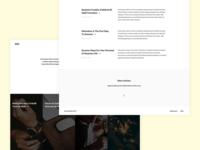 Minimal Blog Template