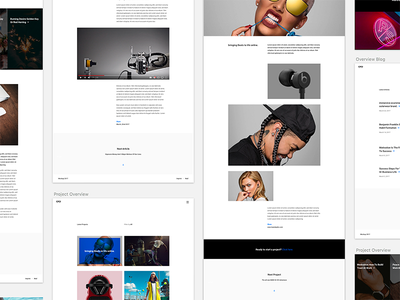 Theme Shot theme website minimal blog