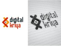 Digital Kriya logo branding