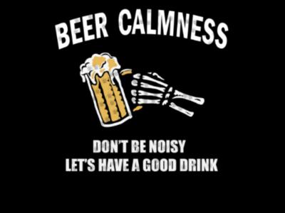 Beer calmness
