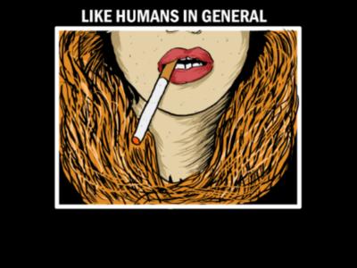 Ladies smoke