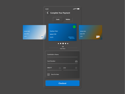 Daily UI Challenge 002 - Credit Card Checkout Neumorphism xd adobexd softui cards ui checkout form neumorphic design neumorphism neumorphic dailyui 002 ux ui design daily ui dailyui