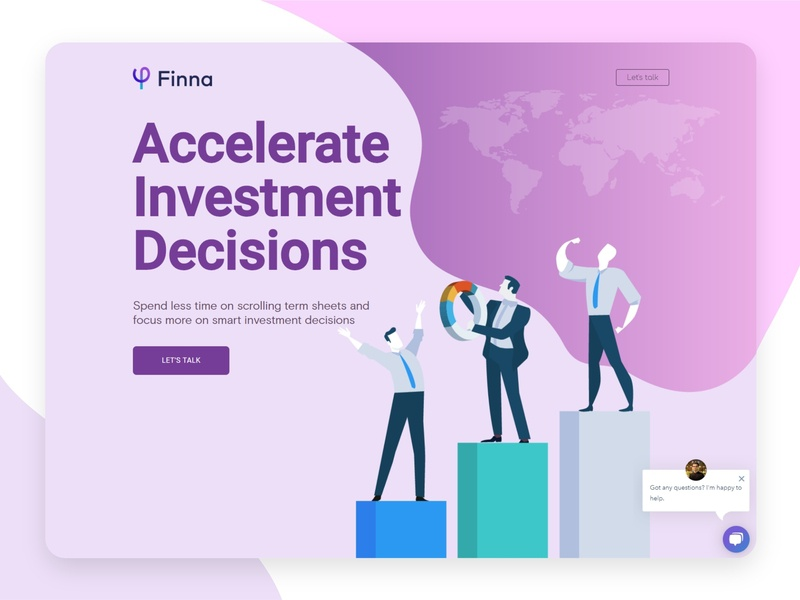 Finna Website illustration admin ui ux website concept website design webdesign
