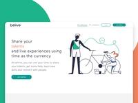 Beliive Website