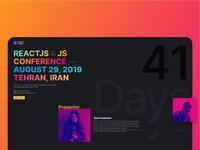 Reactconf Website