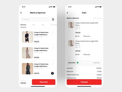 Shop & Cart order buy emarket market fashion shopping app basket payment buying shopping online shop eshop ecommerce commerce cart shop