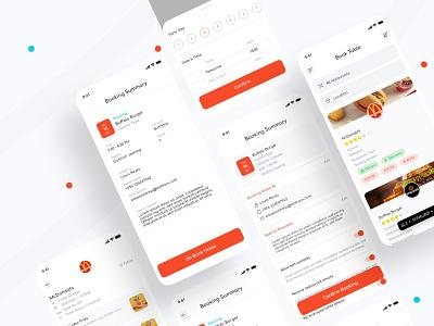 Nina food apps food app ui menu scan qr code restaurant order food food app