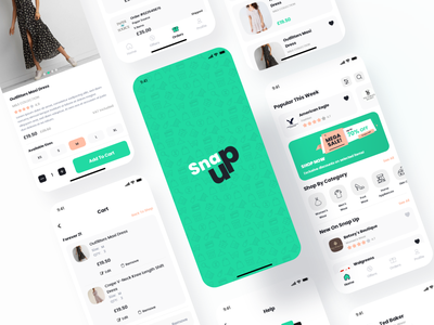 Snap Up design uiuxdesign ui  ux mobile app design mobile ui uiux design uidesign icons banners home page online store shopping illustrations e commerce ui ux ux design ui design uiux app ui ecommerce