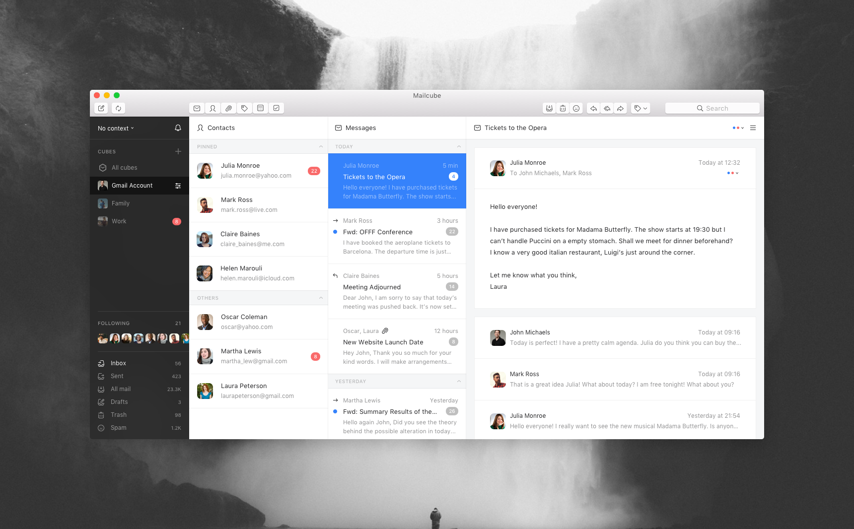 Mailcube app complete