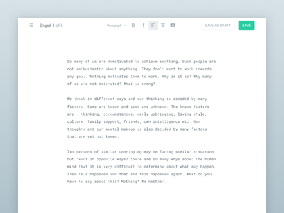 The writer's tool rich text app monospaced minimal clean writer composer text editor