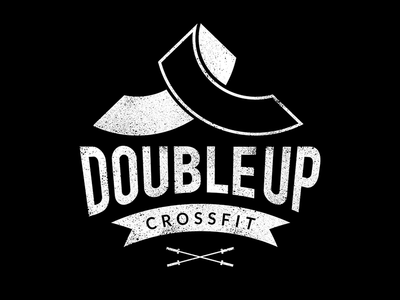 CrossFit Double Up Hoodie Logo