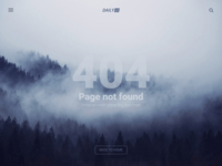 404 Page - DailyUI #008