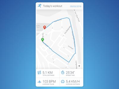 Location Tracker - DailyUI #020