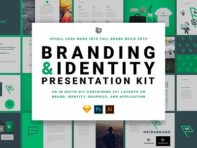 Branding & Identity Presentation Kit design branding logo
