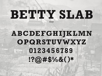Betty Slab Bold