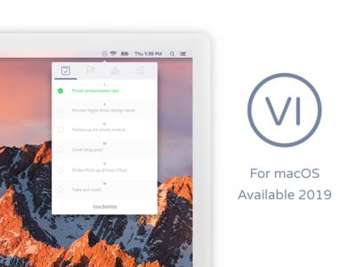 VI Productivity Desktop UI ui desktop vi