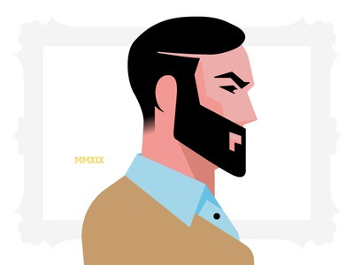 Vector Self-portrait