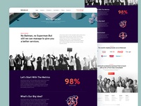 Nexakon | Why choose us? about page business superman about us dark ui illustration clean agency corporate web design user experience user interface creative ux ui