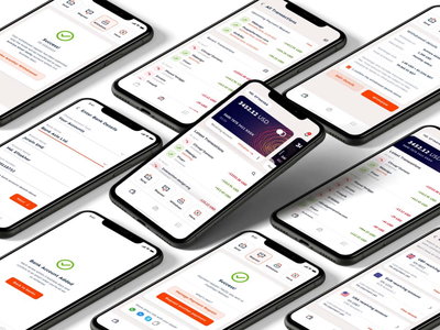 Payoneer Redesign success send money money transfer ios app dark mode payment method payment app bank app payment dark dark ui clean portfolio user experience user interface creative ux ui